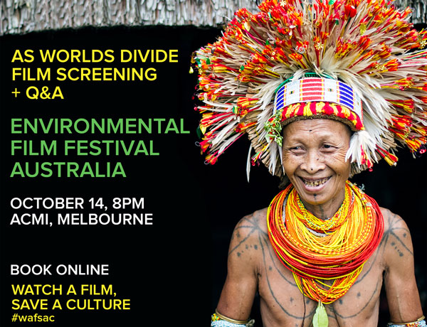 As Worlds Divide documentary film screening at Environmental Film Festival Australia in Melbourne, October 2018