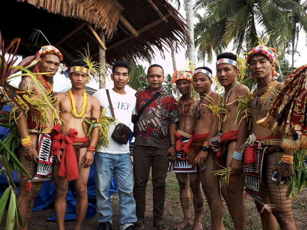 Suku Mentawai Education Foundation participate in the Mentawai Pesona Festival