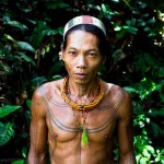 Mentawai shaman proud of the rainforest