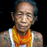 Mentawai female elder